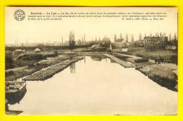 KORTRIJK : De LEIE & De VLASTEELT - COURTRAI : LA LYS & CULTURE  DU LIN : ROUISSAGE - VLAS ROTEN - FLAX LEIN 2861 - Kortrijk