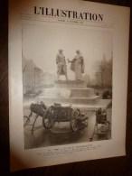 1918  Les CANONS Et ENGINS De Tranchée Gagnés;British à LILLE;Chars RENAULT;Lens;Armée Belge;4 Médailles;US Army;Laon - Journaux - Quotidiens