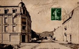 GERARDMER (88) LE BOULEVARD. - Gerardmer