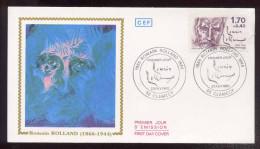 FDC Premier Jour - Romain Rolland - 1985 - FDC