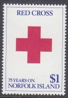 NORFOLK Is, 1989 RED CROSS 1 MNH - Norfolk Eiland