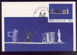 Carte Maximum - Nicolas De Staël - 1985 - Cartes-Maximum