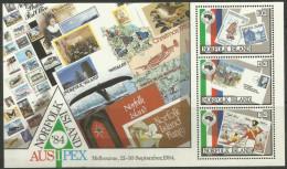 Norfolk Island - 1984 Ausipex Philatelic Exhibition S/sheet MNH  **   SG MS346  Sc 346a - Norfolk Island