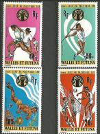 WALLIS ET F PA  N�  63/66 NEUF* TTB