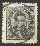 Portugal, 5 R. 1883, Sc # 58, Mi # 54xbB, Used - Used Stamps