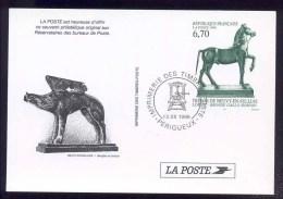 Trésors De Neuvy-en-Sullias -1996 - Documenti Della Posta