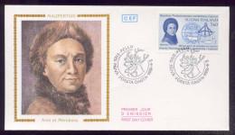 Carte Maximum - Maupertuis - Arcs Et Méridiens - 1986 - FDC