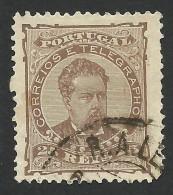 Portugal, 25 R. 1882, Sc # 60c, Mi # 56xB, Used - Used Stamps