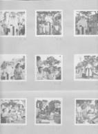 Photos  Guerre Militaire  Indochine 1950  Arbre De Noel B.M.S  ( 13 Photos ) - Guerra, Militari