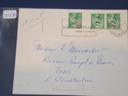 ALGERIE - EA Sur Lettre Recommandée De Constantine De Juillet 62 - 1er Jour Du N° 354 - Détaillons Collection - Lot 1158 - Algeria (1924-1962)