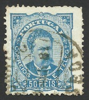 Portugal, 50 R. 1882, Sc # 61, Mi # 57B, Used - Used Stamps