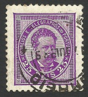 Portugal, 25 R. 1887, Sc # 65, Mi # 63a, Used - Used Stamps