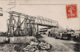 MARCILLAC FERRALS - DEPART DE LA MINE AU CHEMIN DE FER  - PASSAGE AU DESSUS DE LA ROUTE - Autres Communes