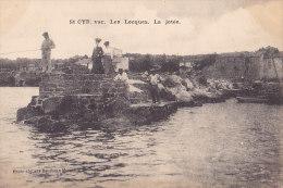 83 / SAINT CYR / LES LECQUES / LA JETEE / PECHEURS /  RARE - Saint-Cyr-sur-Mer