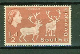 Rennes - SOUTH GEORGIA - Faune, Animaux - N° 9 - 1963 - Géorgie Du Sud