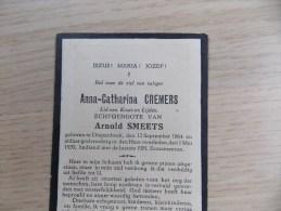 Doodsprentje Anna Catharina Cremers Diepenbeek 12/9/1864 - 1/5/1939 ( Arnold Smeets ) - Religion & Esotérisme