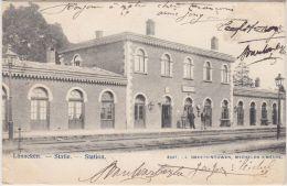 23949g  STATIE - STATION - QUAI - Lanaeken - 1904 - Lanaken