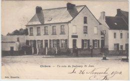 23996g  HABITATION - FAUBOURG St. JEAN - Chièvre - 1904 - Chièvres