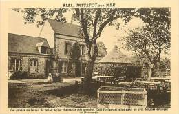Depts Div -seine Maritime -ref Y276- Vattetot Sur Mer - Les Jardins Du Bureau De Tabac -cafe Restaurant  - - France