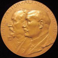 M01833 PAUL PASTUR - ALFRED LANGLOIS - ENSEIGNEMENT TECHNIQUE HAINAUT - 1893-1911 - Leurs Profils (90.6g) - Professionals / Firms