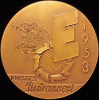 M01837 PRESSES DUTRANNOIT -EXPOSITION EUROPEENNE MACHINE OUTIL - A. LEDERER - BRUXELLES - 1953 (146.4 G) - Professionals / Firms