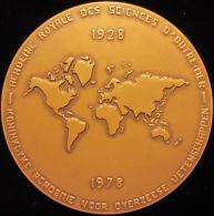 M01842 BALDUINUS I - REX BELGARUM - ACADEMIE SCIENCES D'OUTREMER - 1928 - 1978 - Son Profil (276.2 G) - Royal / Of Nobility