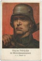 Germany, Propaganda Postcard, NS Party In Generalgouvernment, Interesting Text - Non Classificati