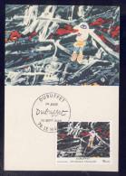 Carte Maximum - Dubuffet - 1985 - Cartes-Maximum