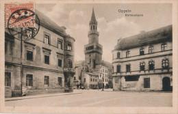 CPA OPPELN - SILESIA - Opole - Silesie - PLEBISCITE De 1921 - Rathausturm - Cachet 12 Avril 1921 Sur N° 34 YT - TB** - Polen