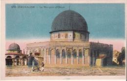 JERUSALEM  012 LA MOSQUEE D'OMAR - Israele