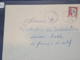 ALGERIE - EA Sur Lettre Recommandée De Setif 1962 - Surcharge à La Main -  Détaillons Collection - Lot 1197 - Covers & Documents