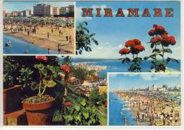 MIRAMARE, RIMINI - Panorama Della Riviera Vista Da Eden Rock, Grandi Alberghi, .... - Rimini