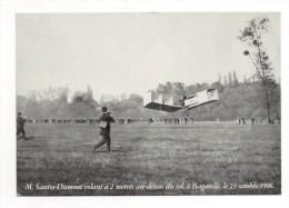 Bresilien Santos Dumont Volant A 2 M Au Dessus Du Sol A Bagatelle Le 23 Octobre 1906 Avion Canard - Ereignisse
