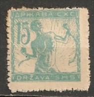 Timbres - Slovénie - 1919 - Slavonien Et Istrien - 15 F - - Slovénie