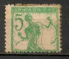 Timbres - Slovénie - 1919 - Slavonien Et Istrien - 5 F - - Slovénie