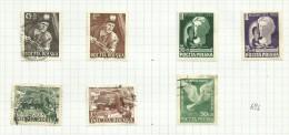 Pologne N°687 à 693 Cote 2.35 Euros - 1944-.... República