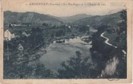 CPA - ARGENTAT - La Dordogne Et Me Chemin De Rive - Argentat