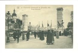 Exposition Universelle De Bruxelles 1910 ; Entrée Principale - Expositions