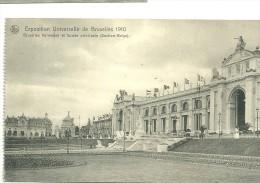 Exposition Universelle De Bruxelles 1910 ; Bruxelles Kermesse Et Façade Principale - Expositions