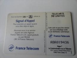 RARE : A COLLE SUR SIGNAL D APPEL SO4 50U - Francia