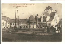 Exposition Universelle De Bruxelles 1910 ; Pavillon Allemand - Expositions