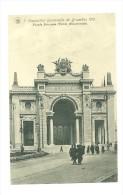 Exposition Universelle De Bruxelles 1910 ; Façade Principale Entrée Monumentale - Expositions