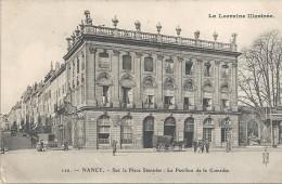 NANCY - 54 - Sur La Place Stanislas Le Pavillon De La Comédie - ENCH22 - - Nancy