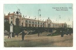 Exposition Universelle De Bruxelles 1910 ; Façade Principale - Expositions