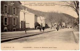 Villefort - Avenue Du Bosquet, Partie Basse ( Gendarmerie ) ( Asi-12946) - Villefort