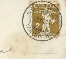 Oblitération  ROMANENS - Marcophilie
