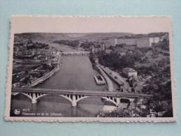Panorama Vu De St. Léonard Huy ( Thill N° 2 ) - Anno 1952 ( Zie Foto Voor Details ) !! - Hoei
