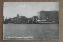 CHIOGGIA -PANORAMA PIAZZETTA  VIGO -BATTELLO 1955 - Venezia (Venice)