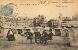 14 Trouville. L'Hotel De Paris - Trouville