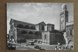 CHIOGGIA - DUOMO -DISTRIBUTORE-ANIMATA-  AUTO EPOCA -BELLA - Venezia (Venice)